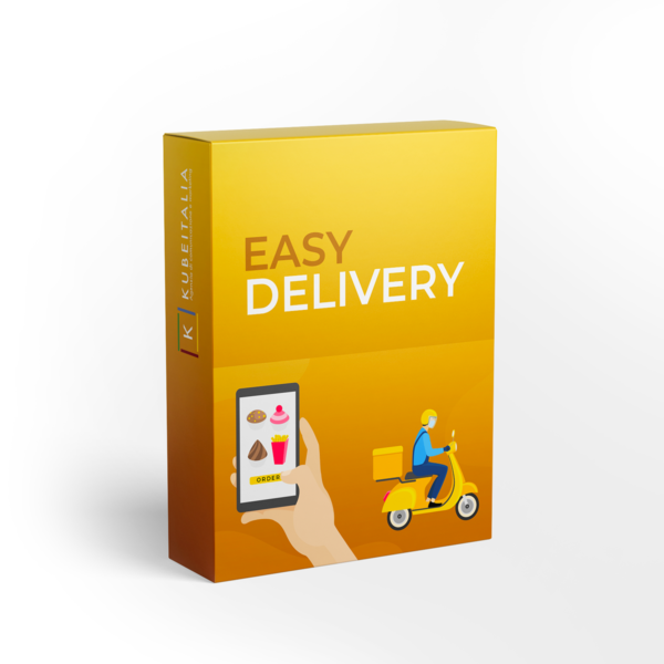 gestione ordini online app consegna a domicilio piattaforma food delivery