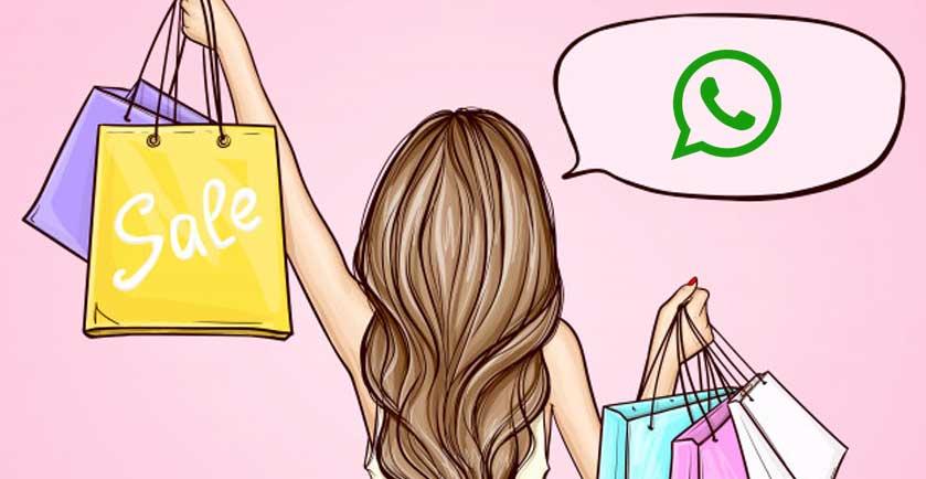 """Mamma, esco! Vado a fare shopping su… Whatsapp"""