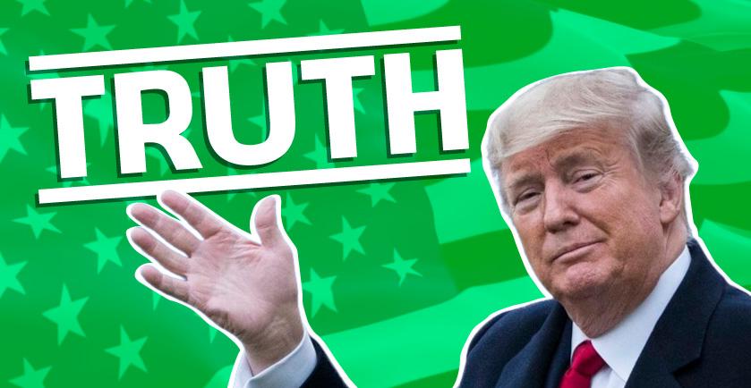 Truth Social di Trump